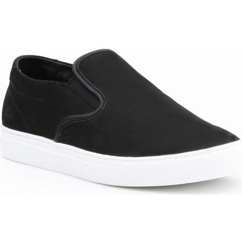 Shoes Men Low top trainers Lacoste Alliot Slipon Black