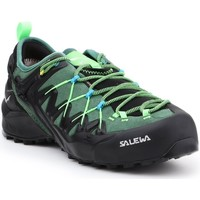 Shoes Men Low top trainers Salewa MS Wildfire Edge Gtx Black,Green