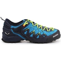 Shoes Men Low top trainers Salewa MS Wildfire Edge Black,Blue
