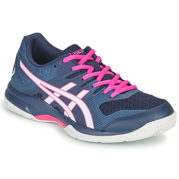 Shoes Women Indoor sports trainers Asics GEL-ROCKET 8 Blue / Pink
