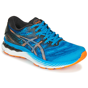 Shoes Men Running shoes Asics NIMBUS 23 Blue / Multicolour