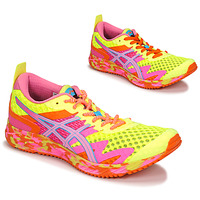 Shoes Women Running shoes Asics NOOSA TRI 12 Yellow / Multicolour
