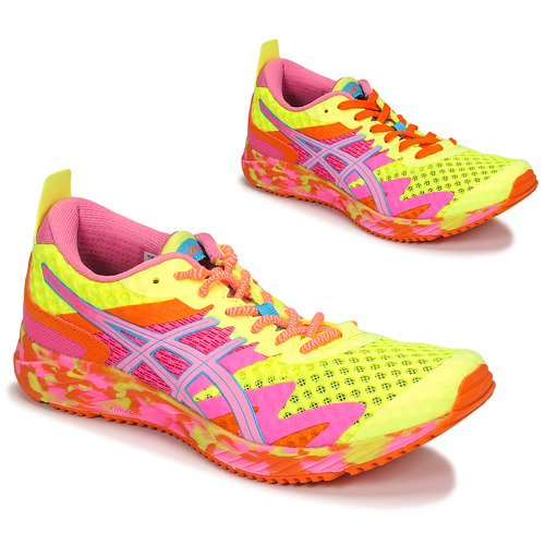 Shoes Women Running shoes Asics NOOSA TRI 12 Yellow / Multicolour