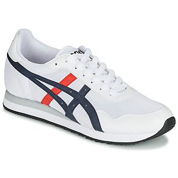 Shoes Men Low top trainers Asics TIGER RUNNER White / Blue / Red