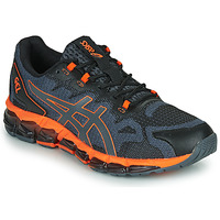 Shoes Men Low top trainers Asics QUANTUM 360 6 Black / Grey / Orange