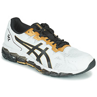 Shoes Men Low top trainers Asics QUANTUM 360 6 White / Black / Gold