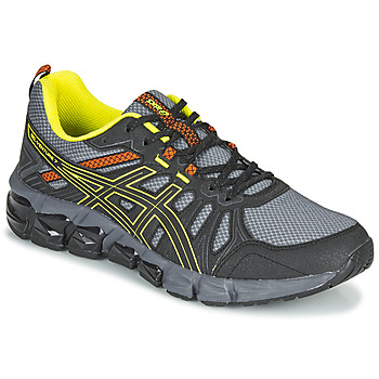 Shoes Men Low top trainers Asics VENTURE 7 180 Black / Yellow