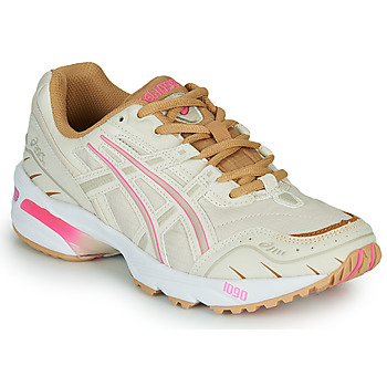 Shoes Women Low top trainers Asics 1090 White / Pink / Gold