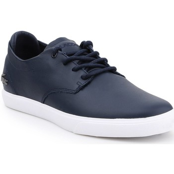 Shoes Men Low top trainers Lacoste Esparre BL 1 CMA 7-37CMA0095092 navy