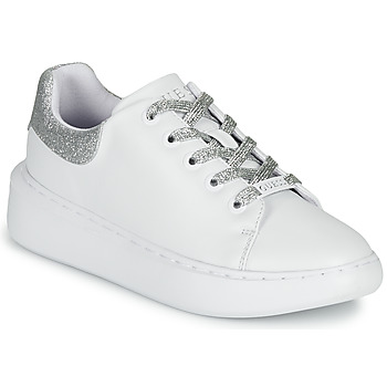 Shoes Women Low top trainers Guess BRADLY White / Silver