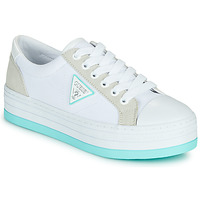 Shoes Women Low top trainers Guess BRODEY White / Blue