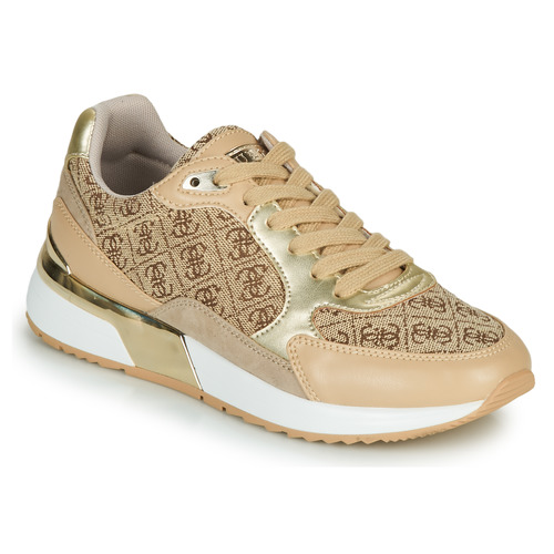Shoes Women Low top trainers Guess MOXEA4 Gold