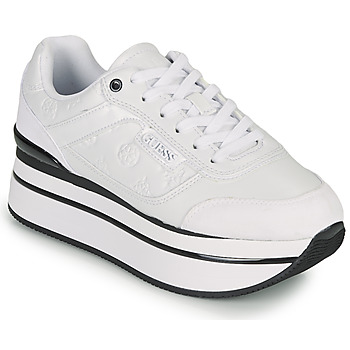 Shoes Women Low top trainers Guess HANSIN White