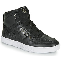 Shoes Women Hi top trainers Guess JUSTISE Black