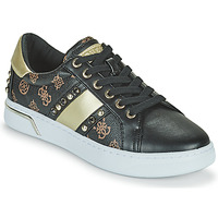 Shoes Women Low top trainers Guess RICENA Black