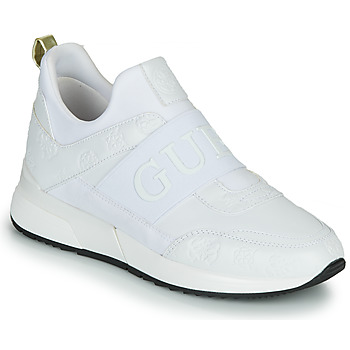 Shoes Women Low top trainers Guess MAYGIN White