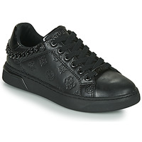 Shoes Women Low top trainers Guess RIYAN Black