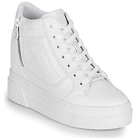 Shoes Women Hi top trainers Guess RIGGZ White