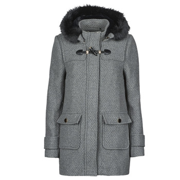 Clothing Women Coats Naf Naf ABIBA Grey