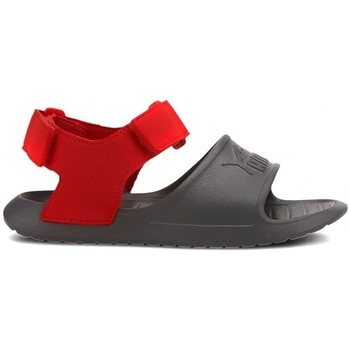 Shoes Children Sandals Puma Divecat V2 Injex Inf Red,Grey