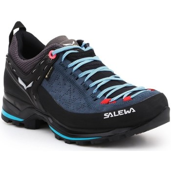 Shoes Women Low top trainers Salewa WS Mtn Trainer 2 Gtx Black,Navy blue