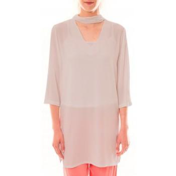 Clothing Women Short Dresses La Vitrine De La Mode Robe 156 By La Vitrine Beige Beige