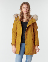 Clothing Women Parkas Only ONLMAY LIFE Mustard