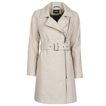 Clothing Women Coats Only ONLOLIVIA Grey