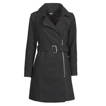 Clothing Women Coats Only ONLOLIVIA Black