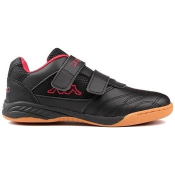 Shoes Children Low top trainers Kappa Kickoff OC K Black