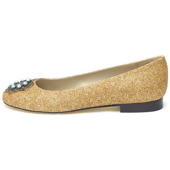 Shoes Women Flat shoes Susana Cabrera Marta Gold glitter