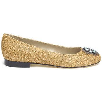 Shoes Women Flat shoes Susana Cabrera Marta Gold glitter