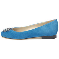 Shoes Women Flat shoes Susana Cabrera Marta Blue