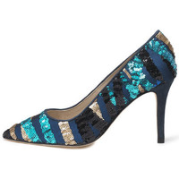 Shoes Women Heels Susana Cabrera Mia Blue sequin