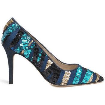 Shoes Women Heels Susana Cabrera Mia Blue sequin