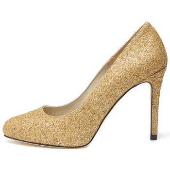 Shoes Women Heels Susana Cabrera Carmen Gold glitter