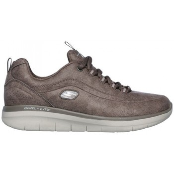 Shoes Women Low top trainers Skechers SYNERGY 2.0 12934 Brown