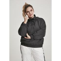 Clothing Women Jackets Urban Classics Parka femme Urban Classic panel GT noir