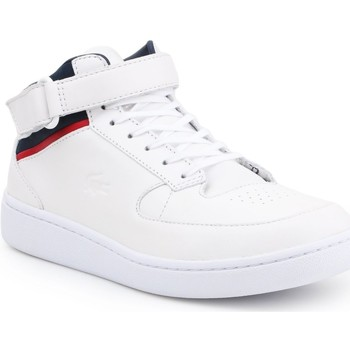 Shoes Men Hi top trainers Lacoste Turbo 116 1 CAM 7-31CAM0136001 white