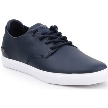 Shoes Men Low top trainers Lacoste Esparre Navy blue