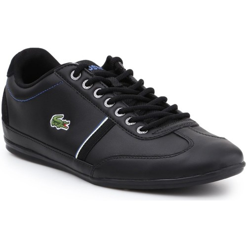 Shoes Men Low top trainers Lacoste Misano Sport 118 1 CAM 7-35CAM00831Z2 black