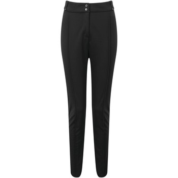 Clothing Women Trousers Dare 2b Swarovski Embellished -  Sleek Waterproof Luxe Ski Pants Black Black