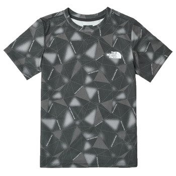 Clothing Boy Short-sleeved t-shirts The North Face REACTOR TEE Black