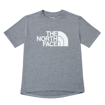 Clothing Boy Short-sleeved t-shirts The North Face ON MOUNTAIN TEE Grey