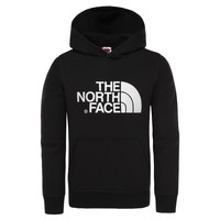 Clothing Boy Sweaters The North Face DREW PEAK HOODIE Black