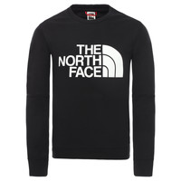 Clothing Boy Sweaters The North Face DREW PEAK LIGHT CREW Black