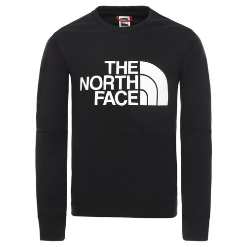 Clothing Boy Sweaters The North Face DREW PEAK LIGHT CREW Black