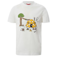 Clothing Boy Short-sleeved t-shirts The North Face GRAPHIC TEE White