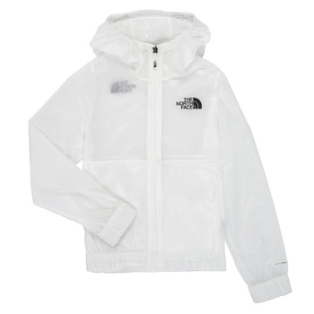 Clothing Girl Macs The North Face REACTOR WIND JACKET White