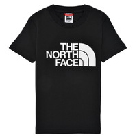 Clothing Boy Short-sleeved t-shirts The North Face EASY TEE Black